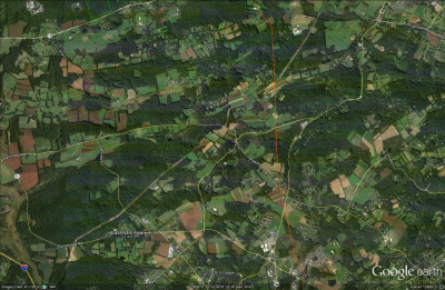 Screen Capture from Google Earth